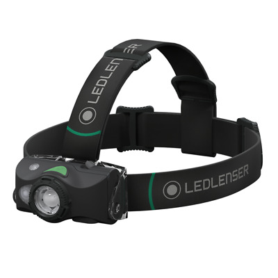 Led Lenser MH8 Rechargeable Headlamp 600 Lumens - Outdoor Series - Black