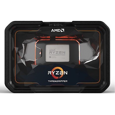 AMD Ryzen 3 5 7 Threadripper 2600 2700 2920X 2990WX AM4 TR4 Processor PC CPU