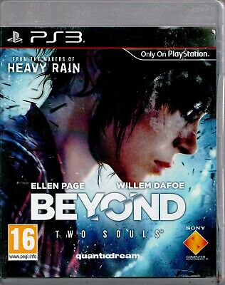 PS3 - Beyond: Two Souls (Sony PlayStation 3, 2013) - COMPLETE