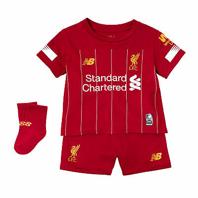 New Balance Official Kids Liverpool FC Home Baby Football Kit 2019-20