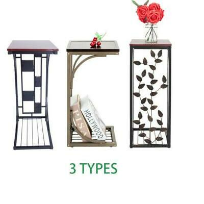 Modern Style Side Small Sofa End Table Narrow Snack Table Stand 3 Types New US