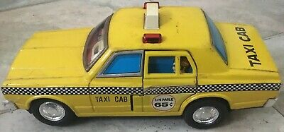 1960's Tin Toy Bump'n'go Taxi (Made in Japan)