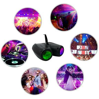 20W RGBW 128LED Double Head Airship Projector Lamp Laser Stage Effect Light New