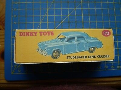 DINKY TOY REPRO BOX ONLY FOR NO 156 ROVER 75