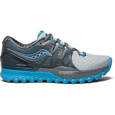 Saucony S10387 2 Xodus ISO 2 Grey Blue Women's Running Shoes Size 5