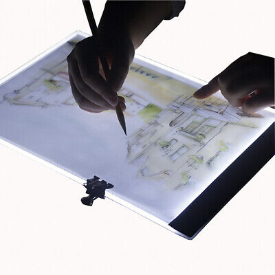 A4 led drawing tablet thin art stencil drawing board light box tracing table  GN
