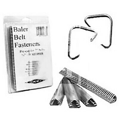 1701400 # 4 Galvanized Round Hook with Pins for Baler Belt Fasteners