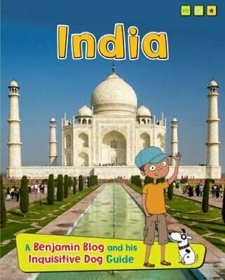 India A Benjamin Blog and His Inquisitive Dog Guide 9781410966629 | Brand New