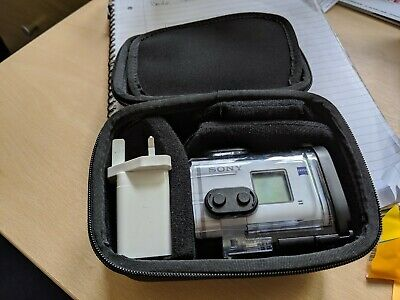 Sony Fdr-x3000r 4k Action Cam With LiveView Remote Waterproof