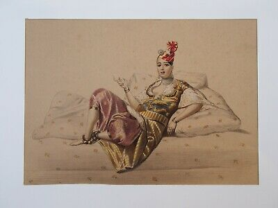 Lithographie couleur anonyme