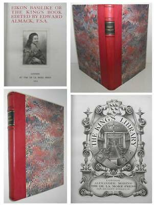 KING CHARLES I Autobiography THE ENGLISH CIVIL WAR Fine Press & Fine Binding