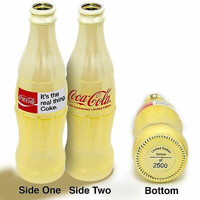 Coca-Cola ® 50th Anniversary 'It's The Real Thing' Limited ED Decorative bottle