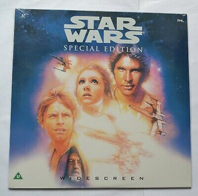 Star Wars Special Edition (1997) Widescreen Laser Disc (new & sealed) EE1232-1