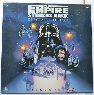 The Empire Strikes Back SE (1997) Widescreen Laser Disc EE1232-2 (new & sealed)