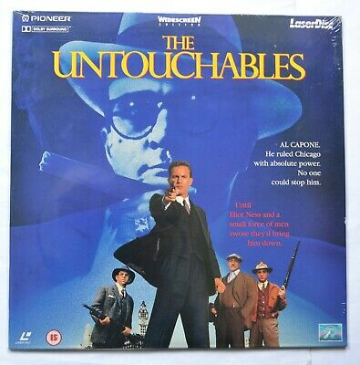 The Untouchables (1996) Widescreen PAL Laser Disc (new & sealed)