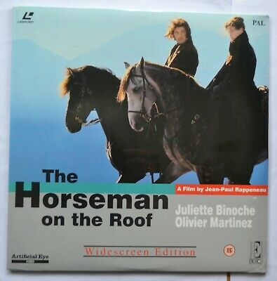 The Horseman on the Roof - Widescreen PAL Laser Disc (new & sealed)
