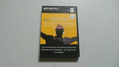Earworms Rapid German 200+ Essential Words And Phrases 1 Cd And Booklet