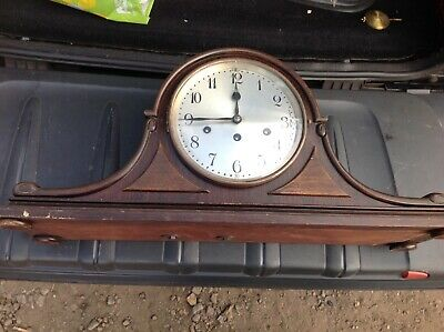 Rare Junghans Wurttemberg Napolean Hat Westminster Chime 8 Day Mantle Clock