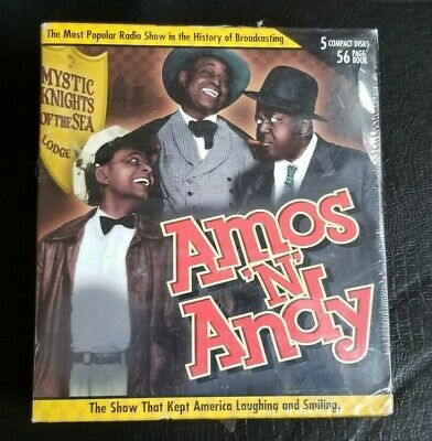 Amos and Andy (2003, CD / Hardcover, Limited) 5-Discs NEW/SEALED