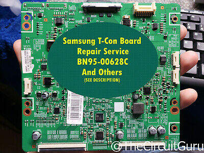 BN95-00628C BN97-06551C BN41-01815A T-con For Samsung UN60EH6050FXZA and Others