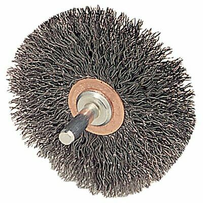 "Weiler 17909 Mounted Crimped Wire Wheel-Diameter: 2-1/2"" (Pack of 2)"