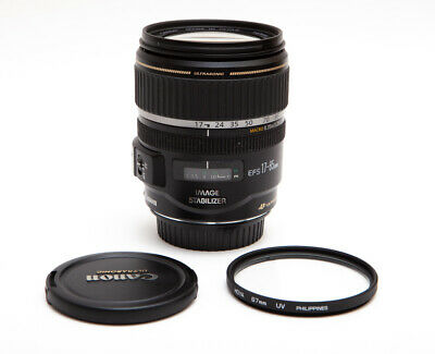 Canon EF-S 17-85mm f/4.0-5.6 IS USM Lens - Sharp and Fast!