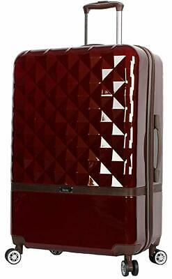"Nicole Miller New York Madison Collection Hardside 20"" Luggage Spinner"