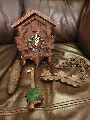 Hurbert Herr Vintage Cuckoo Clock Repairs & spares - made in Germany