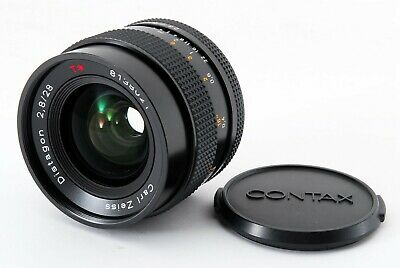 【Excellent++++】Contax Carl Zeiss Distagon 28mm F2.8 MMJ Lens from Japan 439709