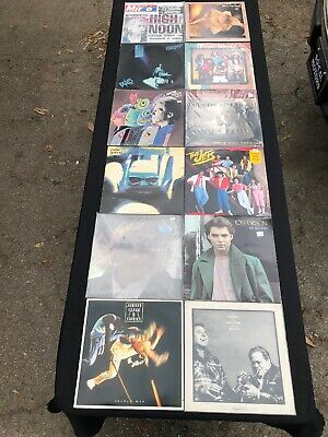 LOT OF (12) 80's LP VINYL RECORDS SOME RARE NICE COLLECTION!