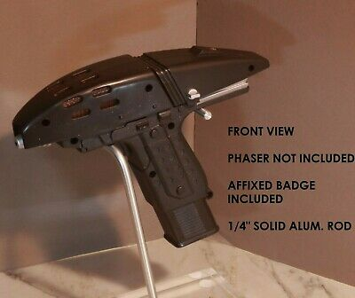 Star Trek, PM Assault, Phaser Display Stand, TOS Badge, High Quality