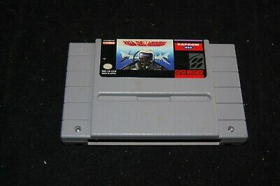 UN Squadron Super Nintendo SNES Cleaned & Tested Authentic
