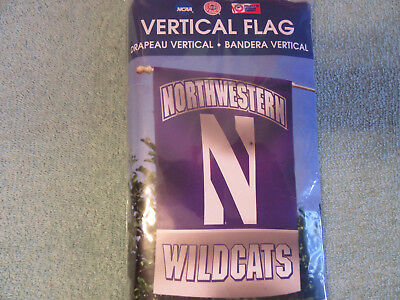 Northwestern Wildcats flag 27 x 37 University new banner game party dorm Chicago