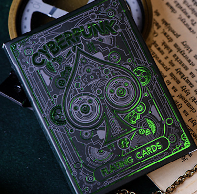 Cyberpunk Green by Elephant Playing Cards