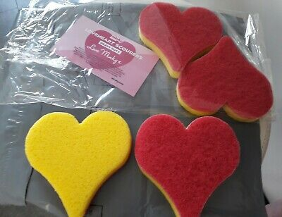 x1 Minky Loveheart scourers ⭐MRS HINCH⭐ NEW
