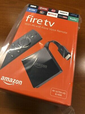 Amazon Fire TV Stick with Alexa Voice Remote Ultra HD & HDR