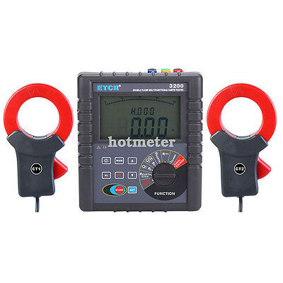 H● ETCR3200+Double Clamp Grounding Resistance Tester.