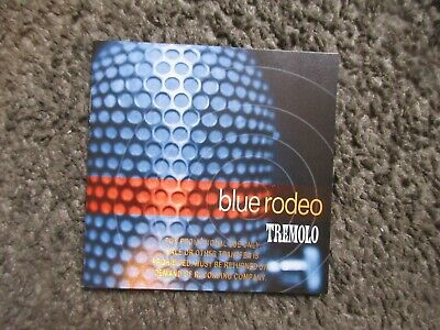 """Blue Rodeo """"Tremolo"""" 1997 Sire Records Nm/Nm Promo Stamped Oop Alt.contry Cd"""