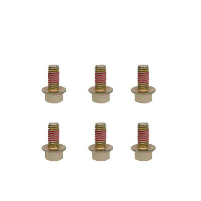 86515925 Blade Bolt 6 Pack fits New Holland Disc Mower 615 616 617 Free Shipping