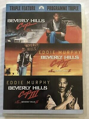 Beverly Hills Cop Collection (DVD, 2007, Triple Feature, Trilogy, OOP) Canadian