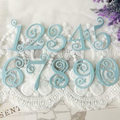Circle Lace Metal Numbers Cutting Dies Stencil Scrapbooking Card Embossing Craft