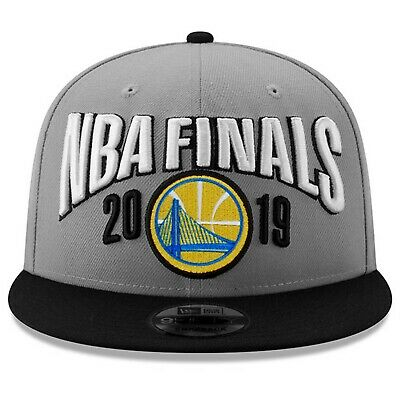 los angeles 89f4d bc743 Golden State Warriors New Era 2019 Conference Champions Locker Room Snapback  Hat