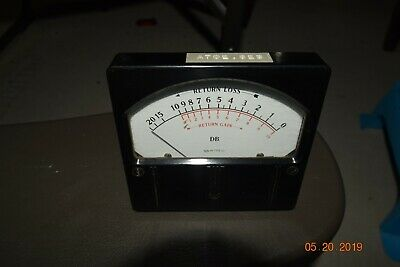 vintage 1961 western electric ks-16758-L1 DB return loss panel meter VU amp
