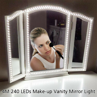 Hollywood Mirror Vanity LED Light Be1ty Dressing Makeup 240Light Dimmer 1 Plug A