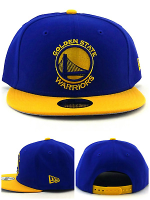 huge selection of c1379 0da62 Golden State Warriors NBA New Era Youth Kids 9Fifty Blue Gold Snapback Hat  Cap