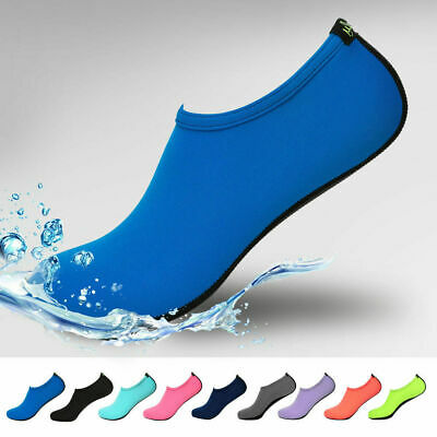 Men Womens Water Shoes Barefoot Aqua Socks Quick-Dry Beach Swim Sports Exercise