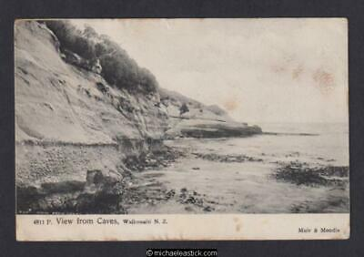 New Zealand View From Caves, Waikouaiti No.4811 Muir & Moodie Postcard
