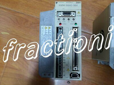 Used Yaskawa Servo Drive SGDM-08AC-SD2, 2-Year Warranty !