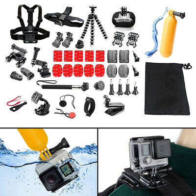 42 IN 1 Chest Head Strap Mount Accessories Set Kit for Gopro Hero 1 2 3 4 5 6
