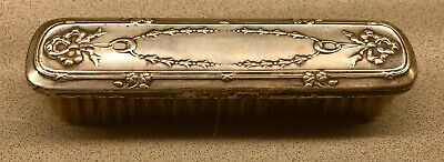 Divorce Sale | Original Art Nouveau Sterling Silver Clothes Brush
